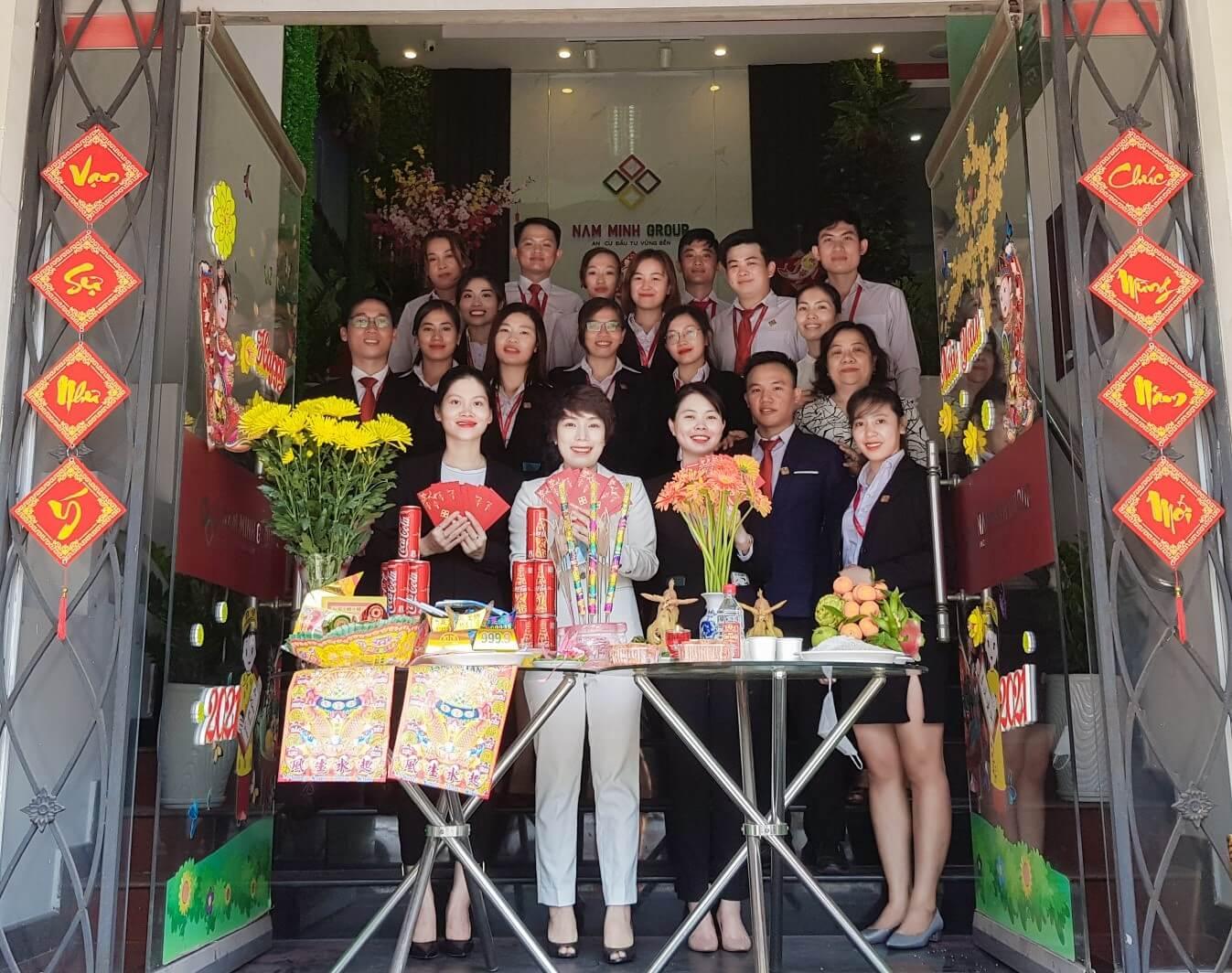 Công Ty Cổ Phần Tập Đoàn Nam Minh Tưng Bừng Lễ Khai Xuân Tân Sửu 2021